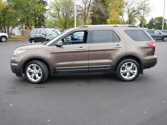 Used 2015 Ford Explorer Limited with VIN 1FM5K8F89FGA55036 for sale in Fridley, Minnesota