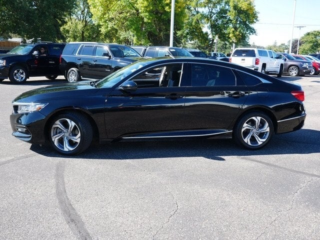 Used 2018 Honda Accord EX-L with VIN 1HGCV2F50JA027337 for sale in Fridley, Minnesota