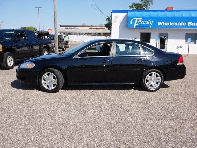 Used 2014 Chevrolet Impala 2FL with VIN 2G1WB5E34E1110624 for sale in Fridley, Minnesota