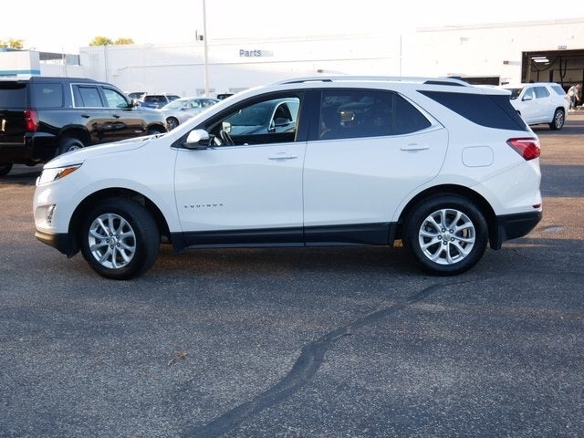 Used 2018 Chevrolet Equinox LT with VIN 2GNAXSEVXJ6260034 for sale in Fridley, Minnesota