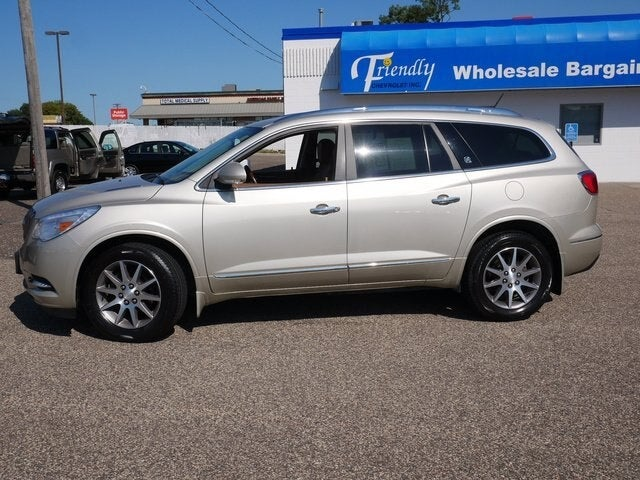 Used 2015 Buick Enclave Leather with VIN 5GAKVBKD3FJ278823 for sale in Fridley, Minnesota